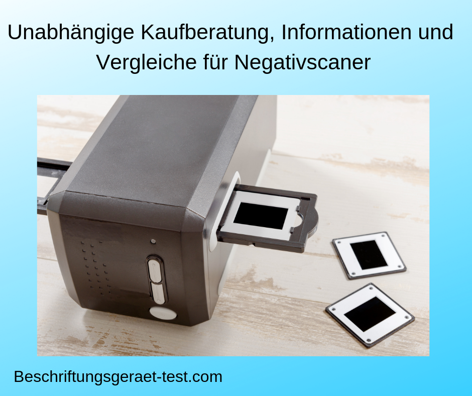 negativscanner test bild