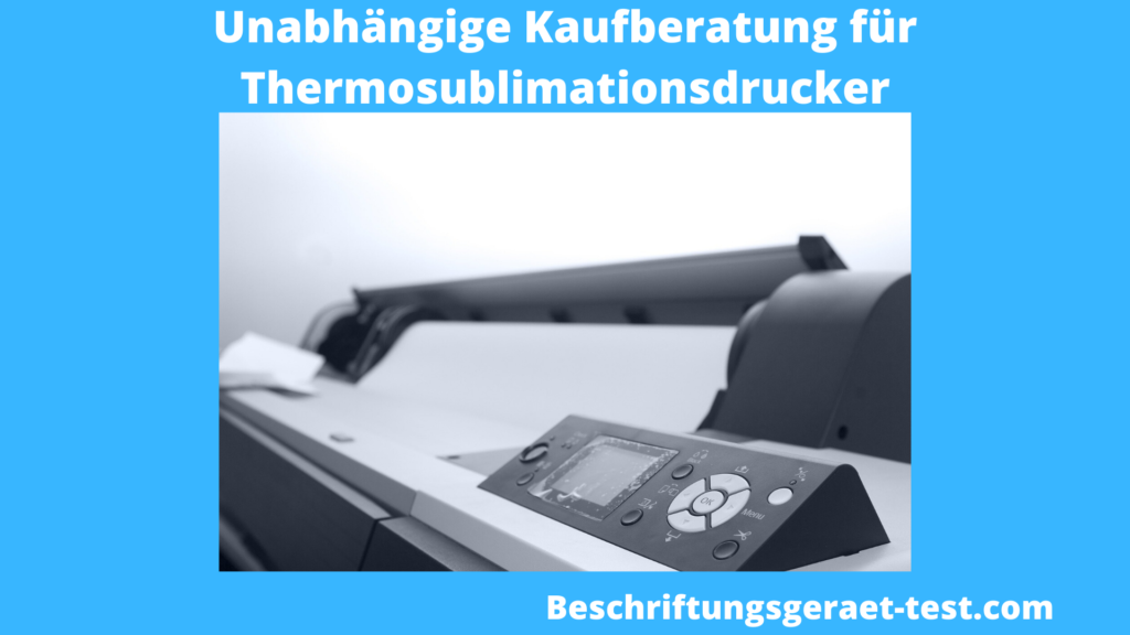 Thermosublimationsdrucker