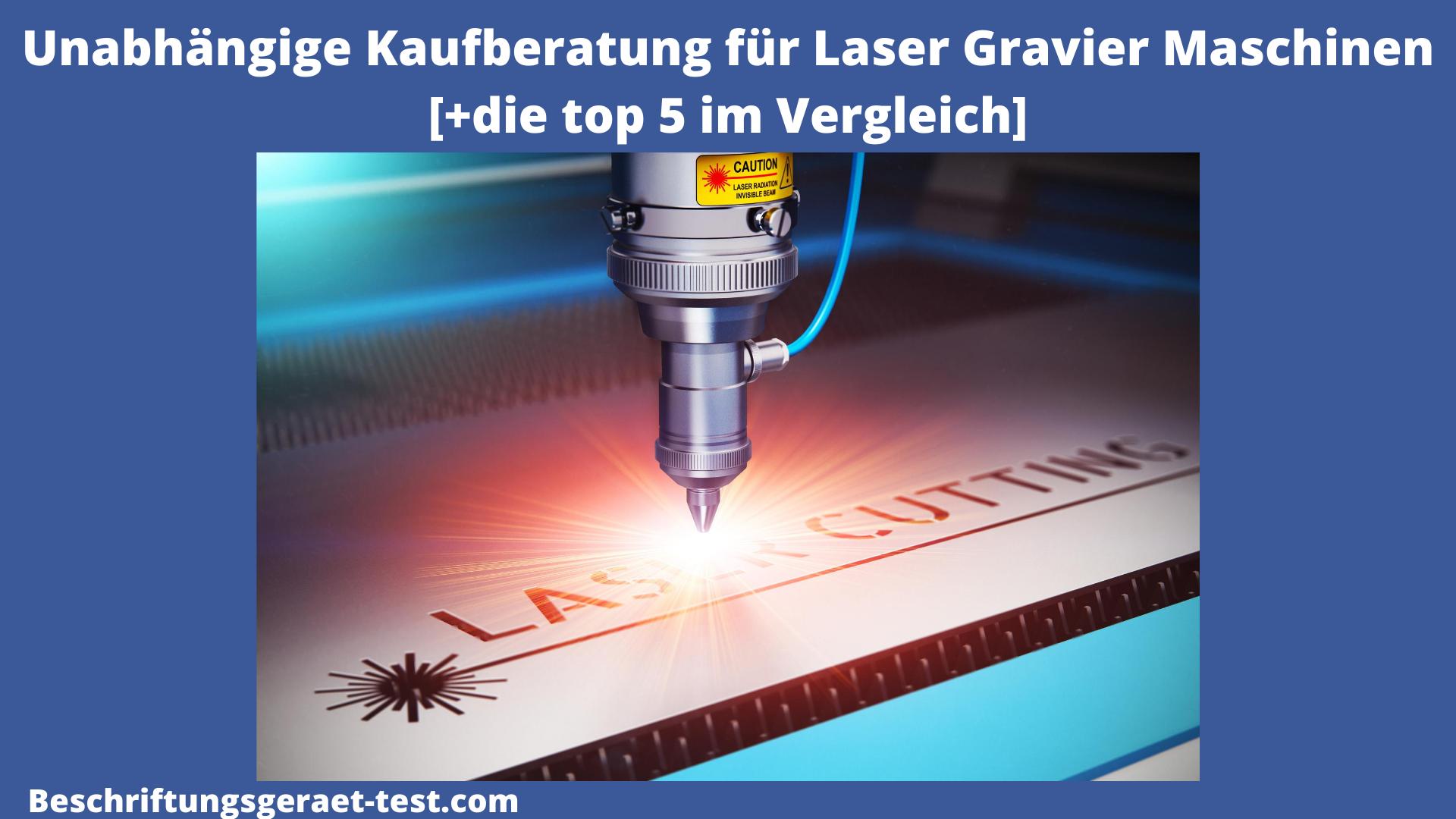 Laser Graviermaschine Test Bild