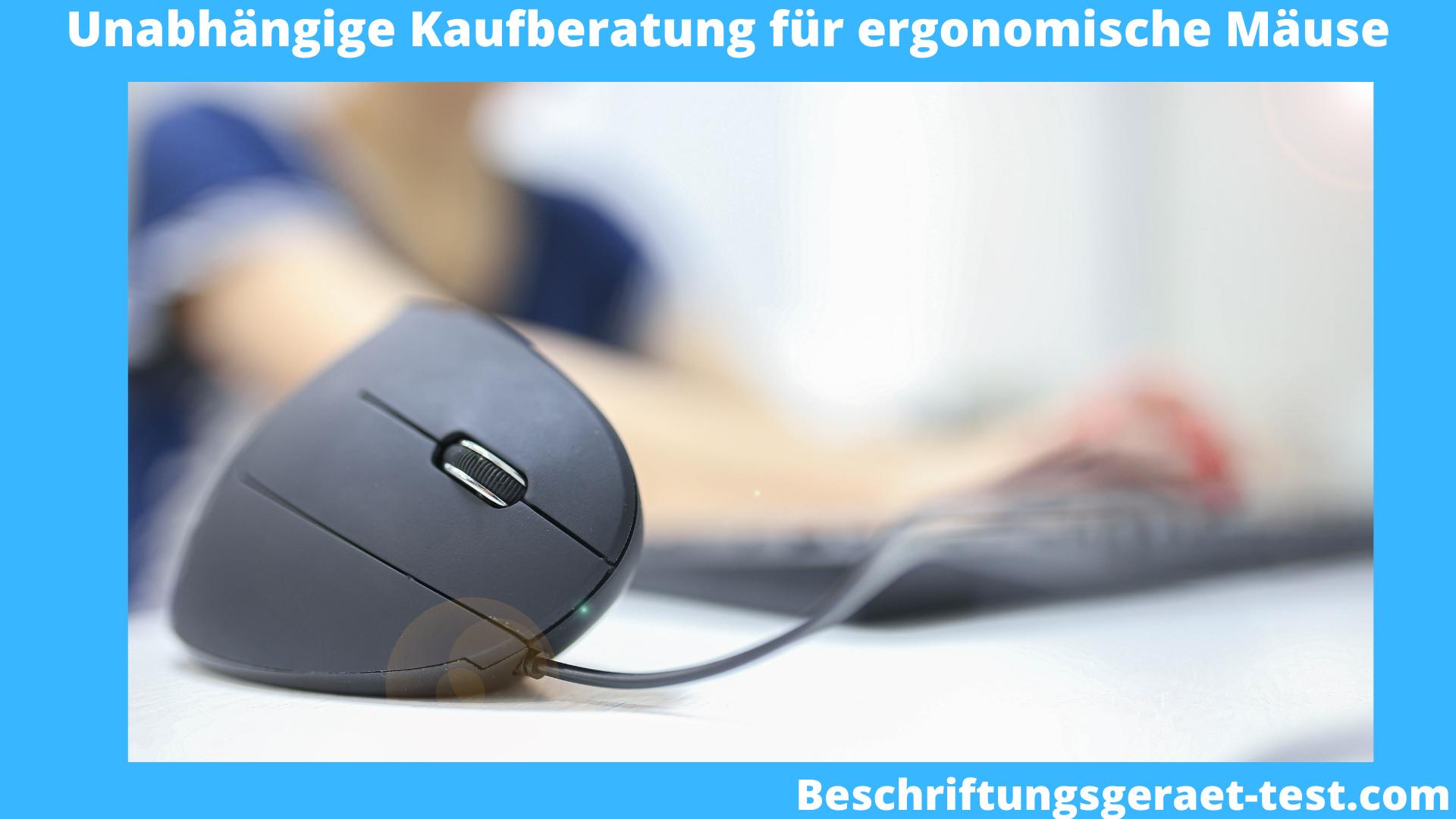 ergonomische Maus Test